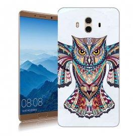 Funda Huawei Mate 10 Gel Dibujo Buho