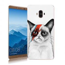 Funda Huawei Mate 10 Gel Dibujo Gatito