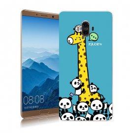 Funda Huawei Mate 10 Gel Dibujo Jirafa