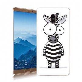 Funda Huawei Mate 10 Gel Dibujo Cebra