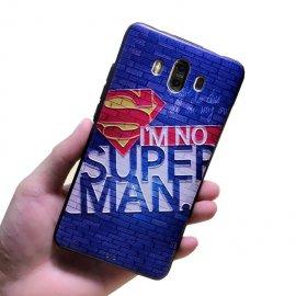 Funda Huawei Mate 10 Gel Dibujo 3D Super Man