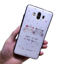 Funda Huawei Mate 10 Gel Dibujo 3D Love