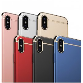 Funda iPhone X Cromadas Dorada