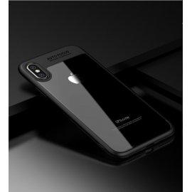 Funda Flexible Iphone X Gel Dual Kawax Negra