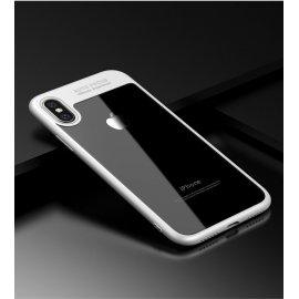 Funda Flexible Iphone X Gel Dual Kawax Blanca