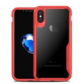 Funda Flexible Iphone X Gel Dual Ipaky Roja
