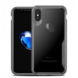 Funda Flexible Iphone X Gel Dual Ipaky Gris