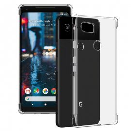 Funda Google Pixel 2 Gel Transparente Anti Golpes