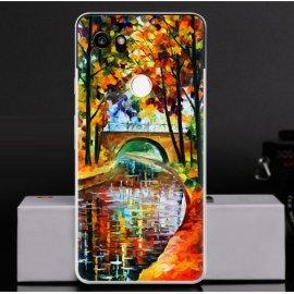 Funda Google Pixel 2 XL Gel Dibujo Pintura