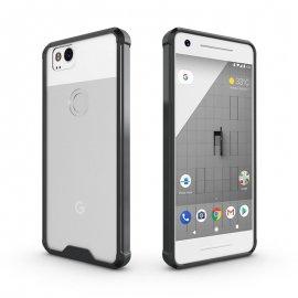 Funda Google Pixel 2 XL Gel Transparente con bordes Smoke