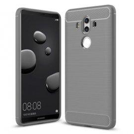 Funda Huawei Mate 10 Pro Gel Hybrida Cepillada Gris