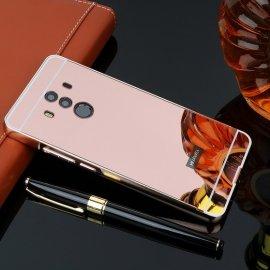 Bumper Huawei Mate 10 Pro Aluminio Dual Oro Rosa