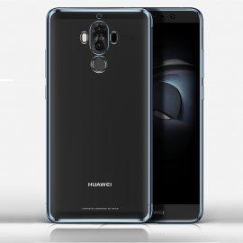 Funda Huawei Mate 10 Pro Gel Transparente con bordes Negra