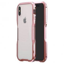 Funda Iphone X Aluminio Stex Rosa