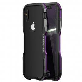Funda Iphone X Aluminio Stex Violeta