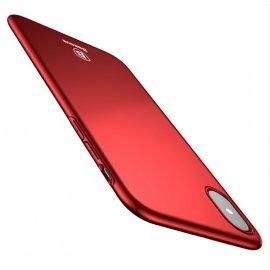 Carcasa ultra fina Iphone X Baseus Roja