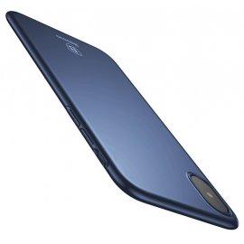 Carcasa ultra fina Iphone X Baseus Azul