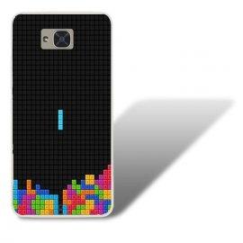 Funda BQ Aquaris U2 Gel Dibujo Pixel