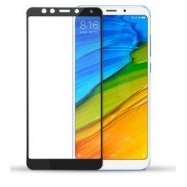 Protector Pantalla Cristal Negro Templado Xiaomi Redmi 5 Plus
