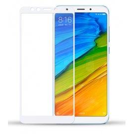 Protector Pantalla Cristal Blanco Templado Xiaomi Redmi 5 Plus