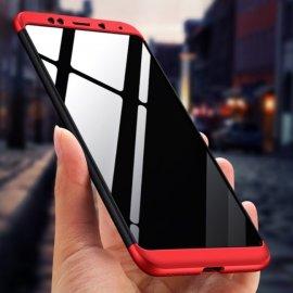 Funda 360 Xiaomi Redmi 5 Plus Roja Negra