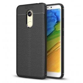 Funda Xiaomi Redmi 5 Tpu Cuero 3D Negra