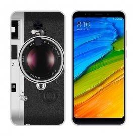 Funda Xiaomi Redmi 5 Plus Gel Dibujo Camera