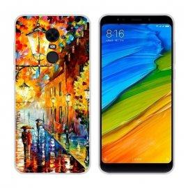 Funda Xiaomi Redmi 5 Plus Gel Dibujo Pintura