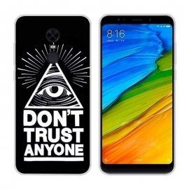Funda Xiaomi Redmi 5 Plus Gel Dibujo Ojo