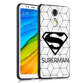 Funda Xiaomi Redmi 5 Plus Gel Dibujo 3D Super Man