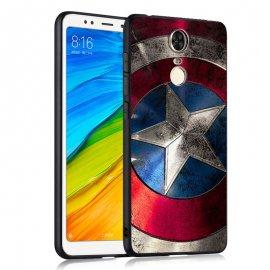 Funda Xiaomi Redmi 5 Plus Gel Dibujo 3D America