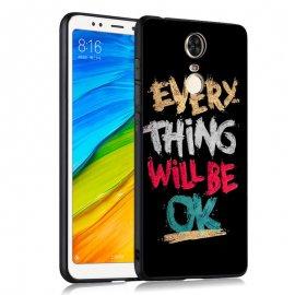 Funda Xiaomi Redmi 5 Gel Dibujo 3D OK