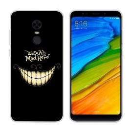 Funda Xiaomi Redmi 5 Gel Dibujo Smile