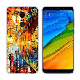Funda Xiaomi Redmi 5 Gel Dibujo Pintura