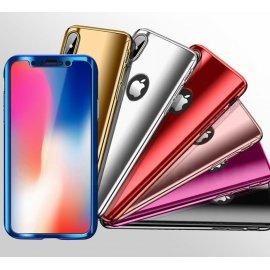 Funda Iphone X Aluminio 360 Completa