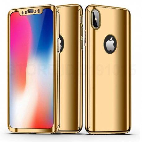 funda iphone dorada