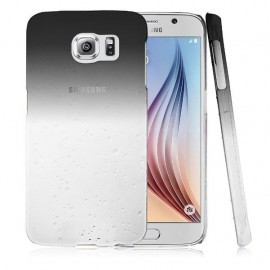 Carcasa Galaxy S6 Edge Pure Agua Gris 3D