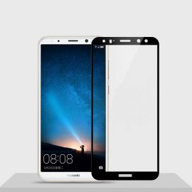 Protector Pantalla Cristal Templado Premium Huawei Mate 10 Lite Negro