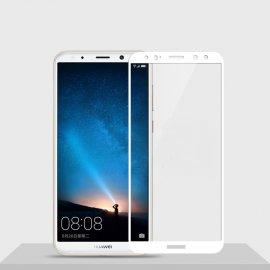 Protector Pantalla Cristal Templado Premium Huawei Mate 10 Lite Blanco