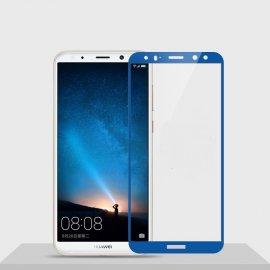 Protector Pantalla Cristal Templado Premium Huawei Mate 10 Lite Azul