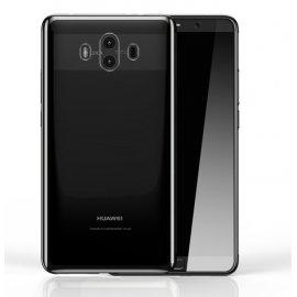 Funda Huawei Mate 10 Gel Transparente con bordes Smoke