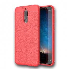 Funda Huawei Mate 10 Lite Tpu Cuero 3D Roja