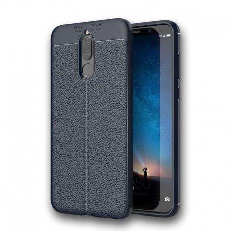 Funda Huawei Mate 10 Lite Tpu Cuero 3D Azul