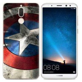 Funda Huawei Mate 10 Lite Gel Dibujo America