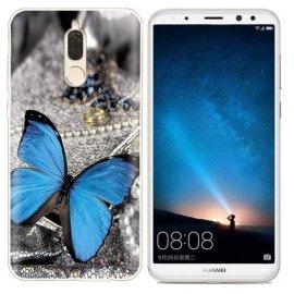 Funda Huawei Mate 10 Lite Gel Dibujo Mariposa