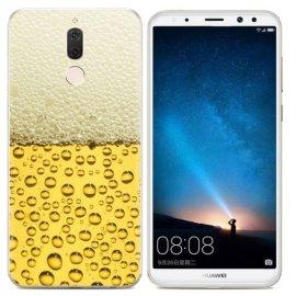 Funda Huawei Mate 10 Lite Gel Dibujo Cerveza