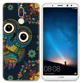 Funda Huawei Mate 10 Lite Gel Dibujo Buho
