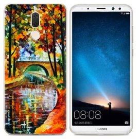 Funda Huawei Mate 10 Lite Gel Dibujo Pintura