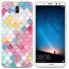 Funda Huawei Mate 10 Lite Gel Dibujo Aquarela