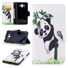 Funda Libro Huawei Mate 10 Lite Panda